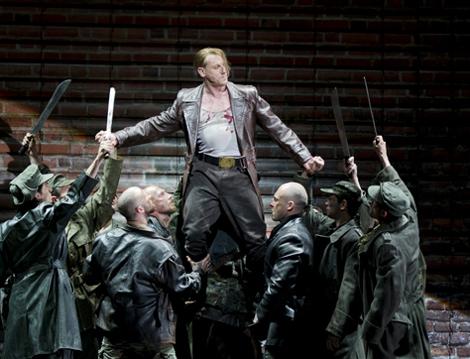 Günther Groissböck chante Hagen (Die Walküre) à l'Opéra national de Paris