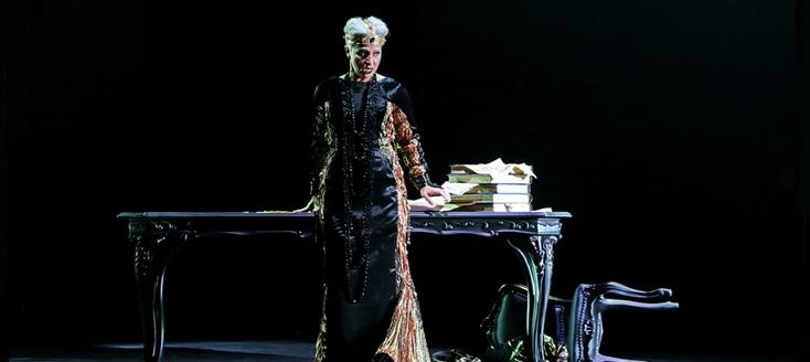 Bergame : Eva Mei en Aliénor d'Aquitaine de Rosmonda d'Inghilterra (Donizetti)