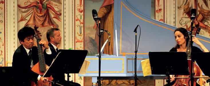 Christophe Rousset et ses talens Lyriques jouent à la Spanischer Saal (Ambras)