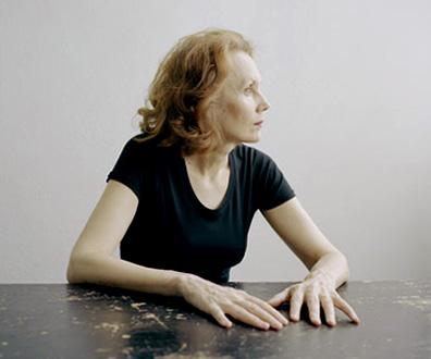 la compositrice finlandaise Kaija Saariaho, photographiée par Olivier Roller