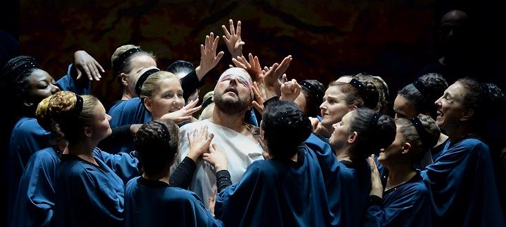 Jacques Mercier joue Samson et Dalila (1877), l'opéra de Saint-Saëns