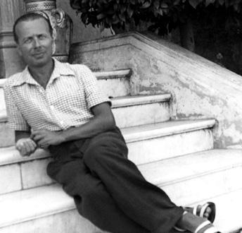 le compositeur italien Giacinto Scelsi auquel L'Itinéraire rend hommage