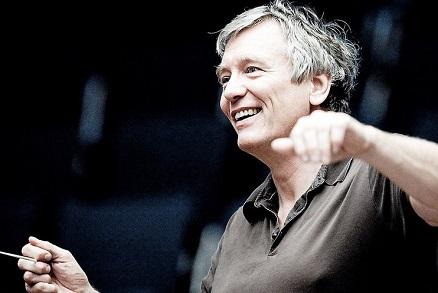 Michael Schønwandt dirige le SWR Sinfonieorchester à Stuttgart, 17 janvier 2020