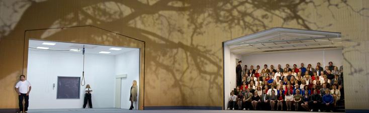 Der Schatzgräber, opéra de Schreker, à Amsterdam (photo Monika Rittershaus)
