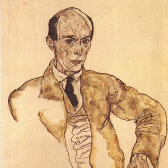 Arnold Schönberg, portrait par Egon Schiele
