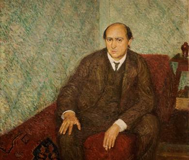 Arnold Schönberg peint par Richard Gerstl à Vienne en 1906