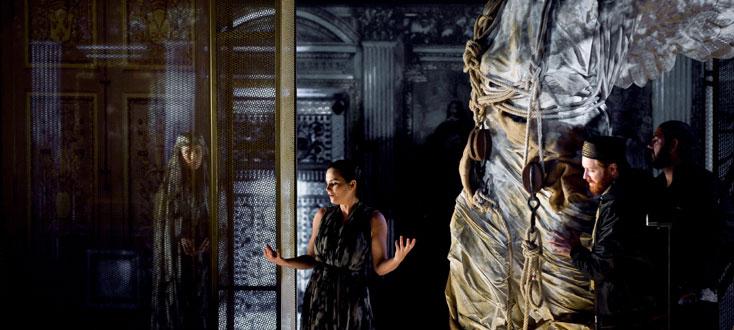 Serse de Cavalli et Lully au Théâtre de Caen, mis en scène par Guy Cassiers