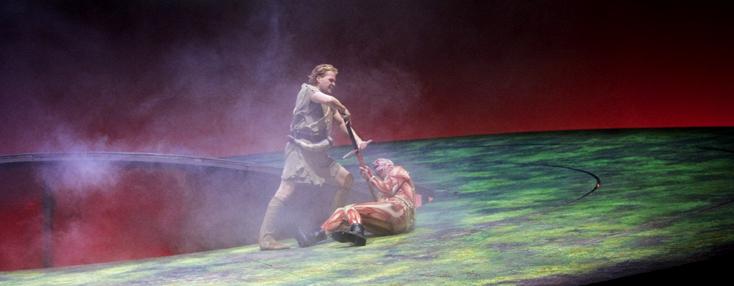 Siegfried (Wagner) mis en scène par Vera Nemirova à Francfort