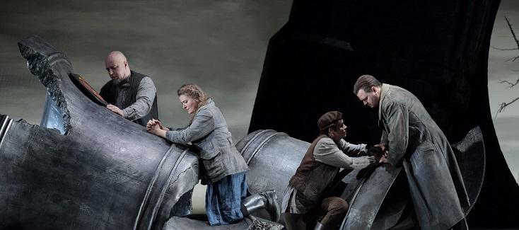La vie pour le tsar, opéra de Glinka mis en scène par Harry Kupfer à Francfort