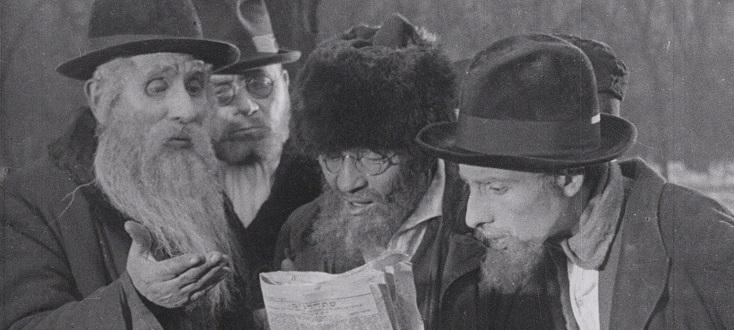Günter Buchwald accompagne la projection de Die Stadt ohne Juden (1924)