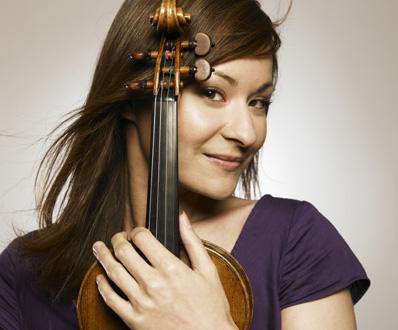la jeune et talentueuse violoniste allemande Arabella Steinbacher