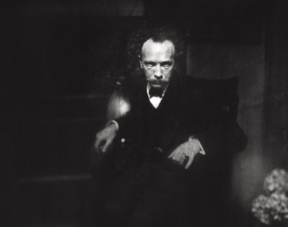Richard Strauss (1864-1949) photographié par Edward Steichen en 1905