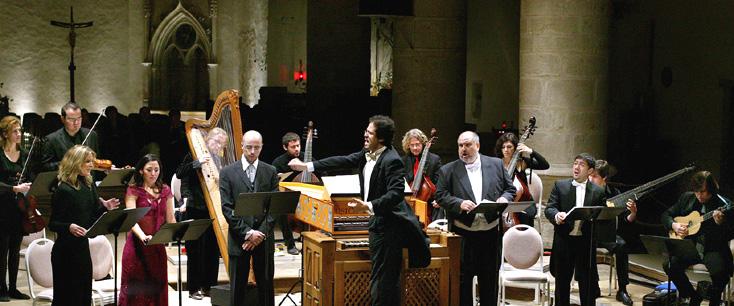 Leonardo García Alarcón dirige sa Cappella Mediterranea à Ambronay