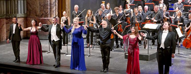 à l'Opéra de Marseile, Maria Stuarda de Donizetti en version de concert