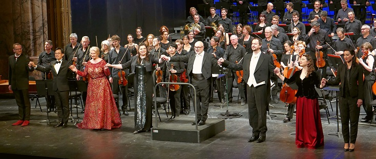 Giuliano Carella joue Tancredi (1813) de Rossini, en version de concert