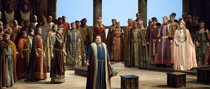 Levine joue Tannhäuser de Wagner, avec Johan Botha dans le rôle-titre