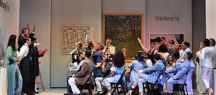 le jeune Andrea Bernard signe une nouvelle Traviata à Busseto, chez Verdi !