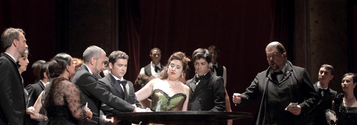 La Traviata (Verdi) de Renée Auphan à l'Opéra de Marseille