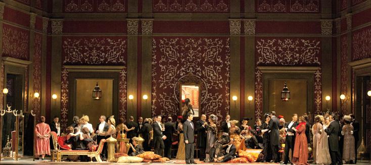 La traviata (Verdi) du cinéaste turc Ferzan Özpetek, au San Carlo de Naples