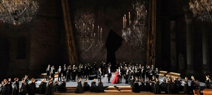 une nouvelle Traviata (Verdi) à Orange, signée Louis Désiré
