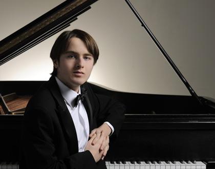 le jeune prodige russe  Daniil Trifonov en récital à Bruxelles (27 janvier 2016)