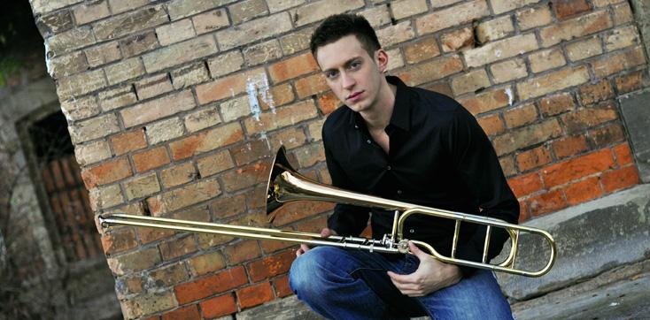 Nicolas Moutier, trombone solo de l'Orchestre Philharmonique de Strasbourg