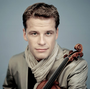 le talentueux violoniste d'origine russe Kirill Troussov