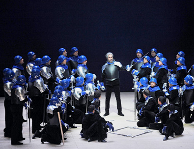 Il Trovatore (Verdi) à Barcelone, photographié par Antoni Bofill