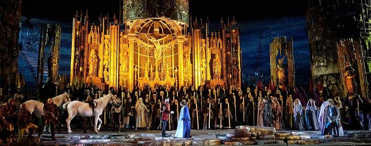"""Anna Netrebko dans """"Il trovatore"""" de Verdi aux Arènes de Vérone : superbe !"""