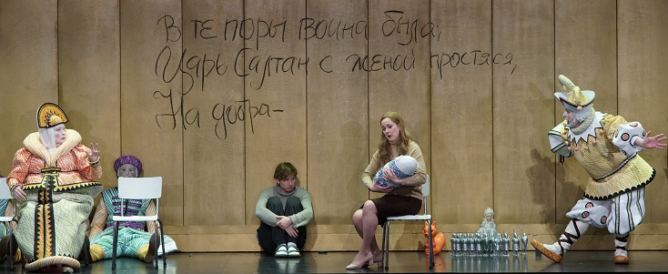 "À Bruxelles, Dmitri Tcherniakov met en scène ""Tsar Saltan"" de Rimski-Korsakov"