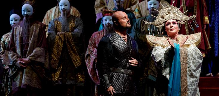 Iréne Theorin et Roberto Aronica : Turandot au Festival de Peralada 2016