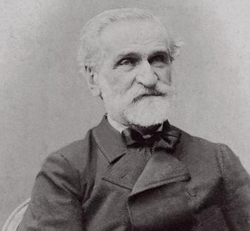 Giuseppe Verdi, à la fin de sa vie, dont l'Opéra de Toulon joue le Requiem