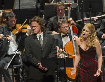 Nathalie Manfrino et Markus Werba chantent Massenet à Saint-Étienne