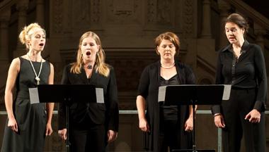 les Neue Vocalsolisten Stuttgart et la création italienne au festival Musica