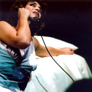 Sophie Fournier dans La voix humaine de Poulenc à Rouen