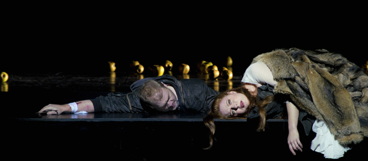 Martina Serafin, Sieglinde (Wagner, Die Walküre) à l'Opéra national de Paris