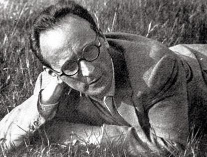 le compositeur autrichien Anton von Webern