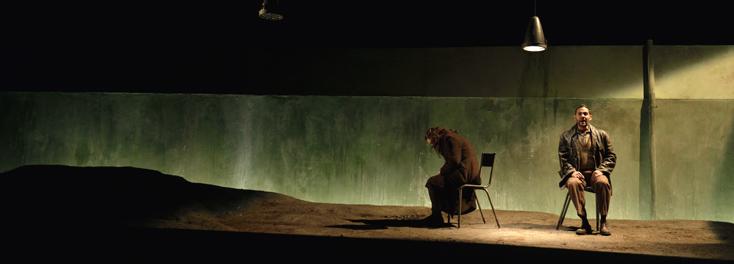 Die weiße Rose, opéra d'Udo Zimmermann mis en sècne par Stefan Grögler à Angers