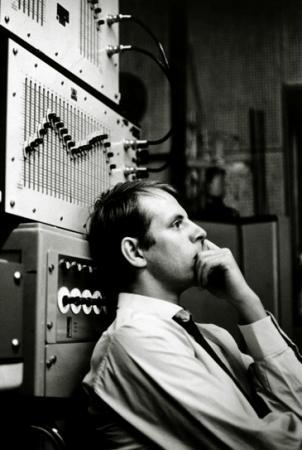 le compositeur Karlheinz Stockhausen