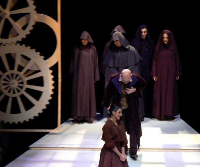 à Chatillon, découverte de Maître Zacharius, opéra de Curti d'après Jules Verne