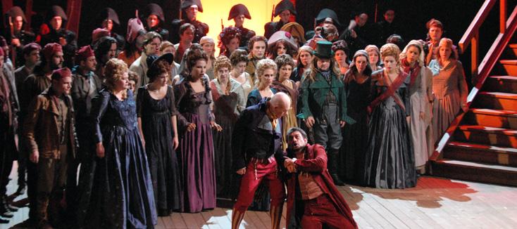 Andrea Chénier, le célèbre opéra d'Umberto Giordano, à Limoges