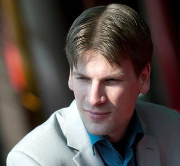 le jeune pianiste Antal Sporck photographié par Ingrid Bertens