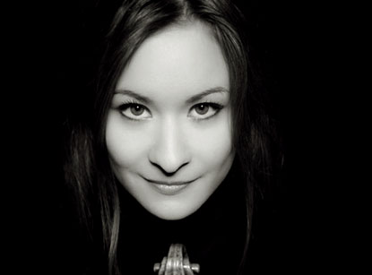 La violoniste munichoise Arabella Steinbacher en récital à Paris