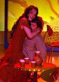 La Carmencita, spectacle de Matthew Jocelyn d'après Bizet