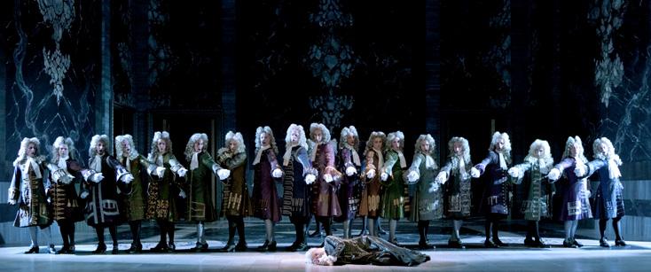 Pierre Grosbois photographie la reprise d'Atys de Lully à l'Opéra Comique, Paris