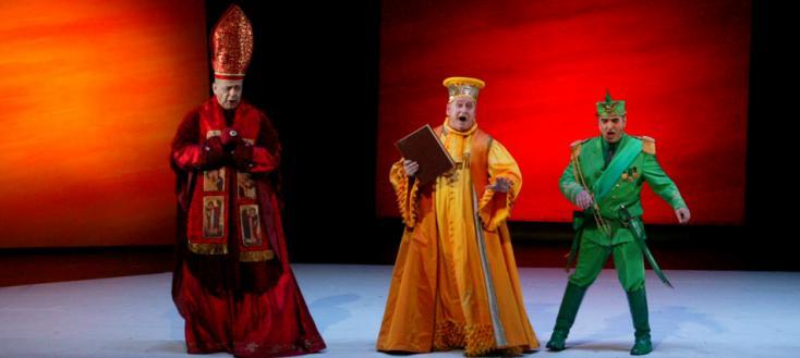 création mondiale du Balcon, opéra de Péter Eötvös d'après Jean Genet