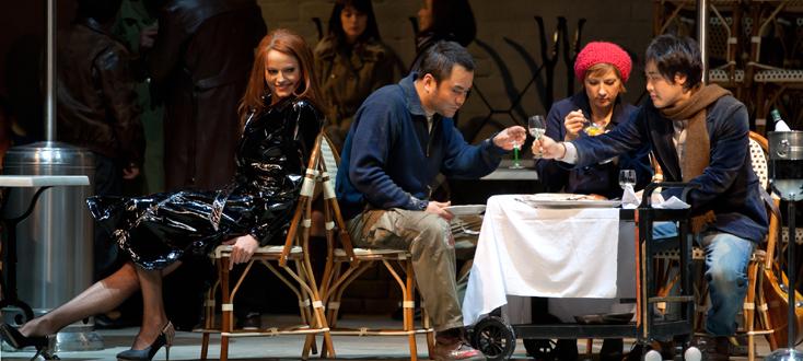 Dominique Pitoiset met en scène La bohème (Puccini) au Capitole (Toulouse)