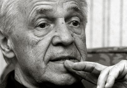 le compositeur français Pierre Boulez (né en 1925)