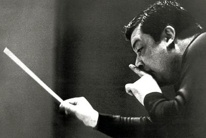 Bruno Maderna orchestra l'Orfeo de monteverdi en 1967