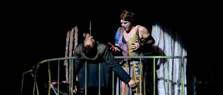 création à l'Opéra Comique (Paris) de Cachafaz d'Oscar Strasnoy d'après Copi